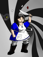 Request: MagicKnife142's Alice by mortimermcmirestinks