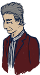 The Doctor (Post Face the Raven) by crazyartist12