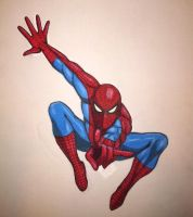Spiderman, Spiderman.... by GosterMonster