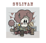 Sullivan dressed up as a clown by JKL-Designs