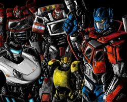 Autobots by BenjaminGalley