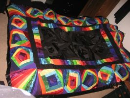 Rainbow Quilt - Complete by setralynn