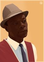Nat King Cole by monsteroftheid