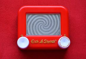 Spiral Etch A Sketch by pikajane