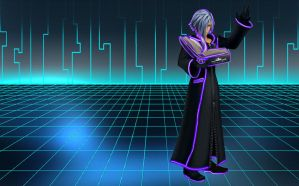 Tron Zexion wallpaper by RoxasTsuna