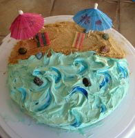 Beach Cake by Groovygirlsuzy17
