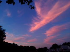 Beautiful Skies After Work by SolarLunix