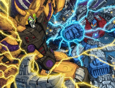 TF: Clash of the Metal Titans by Pinkuh