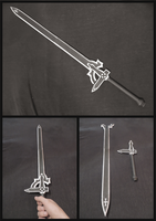 Sword Art Online: The Elucidator - Papercraft by Meraknar