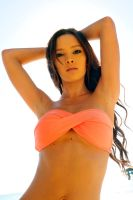 Annali - orange bikini backlit 1 by wildplaces