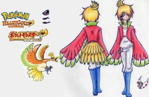 Heart Gold Ho-oh by Xotri