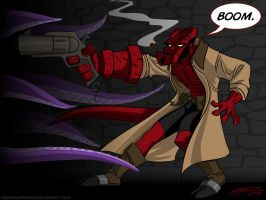 Hellboy by jmh3k