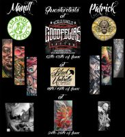 Guest-spot-tour! June 2013 - CALI/USA + Japan!!!! by 2Face-Tattoo