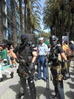 Wondercon 2015 Army of two by DougSQ
