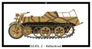 Sd.Kfz. 2 - Kettenkrad by PsykoHilly