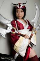 Bloodmoon Akali by TheBigTog