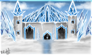 Frostdall ice palace by ayeaye-captainbyoux