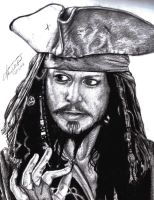 Captain Jack Sparrow by Liltio