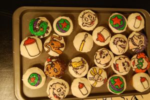 Rugrats cupcakes by soup1335