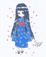 Chibi Japanese Girl by Choulaphone