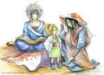 The Three Hokages by jesterry