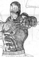 G.I. Joe- pencil WIP by andybrase