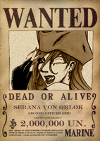 Serana WANTED by VampireCherry