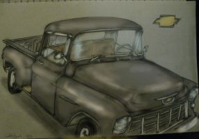 1955 chevy pickup -color- by ownerfate