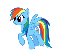 RD trot + wing flap by Archonitianicsmasher