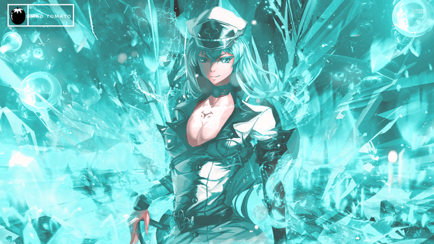 Esdeath Signature From Akame Ga Kill by Madtomatoes