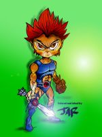 My version of Lion-O Thundercats by jamesalex36