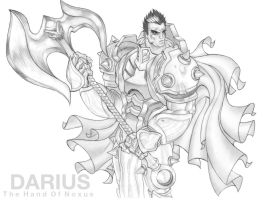 Darius - The Hand Of Noxus by BenJi2D