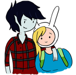 Marshall and Fionna by PenadoxBlackmoon