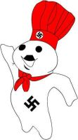 Nazi Doughboy by damnthemonkey