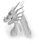 Dragon doodle by CrystalCircle