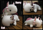 DD: Axolotls Barry and Cyd by heilei
