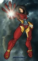 Iron Woman by Molotov7