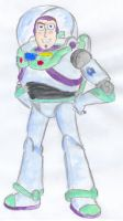 Buzz Lightyear -water color- by marvyanaka
