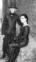 CP 2009 Gothic couple by aerisek
