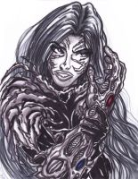 Ode to Witchblade by KwongBee-Arts