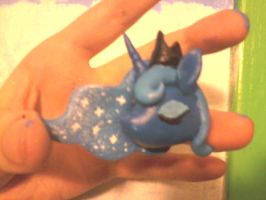 Princess Luna Pendant by o0AquaDragon0o