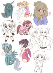 Requests -sketches- by CielaArt