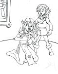 zelda link betwaen worlds page 3 of 3 by chaos-07