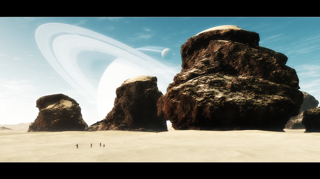 Sands Of Orion by Wetbanana