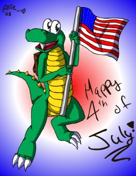 .: Happy 4th Of July :. by Scourge-Is-Awesome