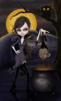 .:shrunken head:. by DanielaUhlig