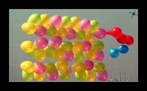 the balloons by cradeloso