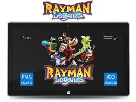 Rayman Legends Icon by Ni8crawler