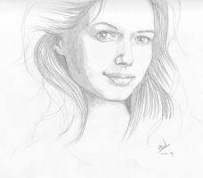 Another pencil portrait by RogierB