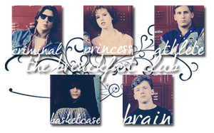 The breackfast club icon set by PiccolaPerSempre